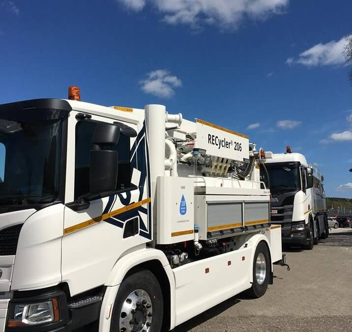 Recycler 206 JET VAC joins Midlands drainage fleet