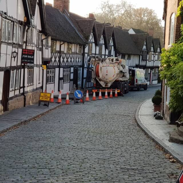 CCTV drain survey – Warwick Castle